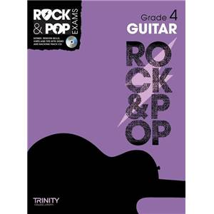 COMPILATION - TRINITY COLLEGE LONDON : ROCK & POP GRADE 4 FOR GUITAR + CD