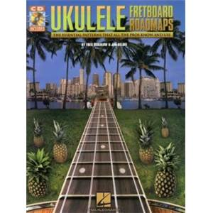 SOKOLOW FRED - UKULELE FRETBOARD ROADMAPS + CD