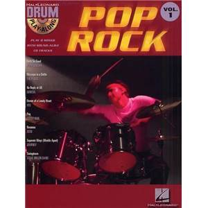 COMPILATION - DRUM PLAY ALONG VOL.1 POP ROCK + CD