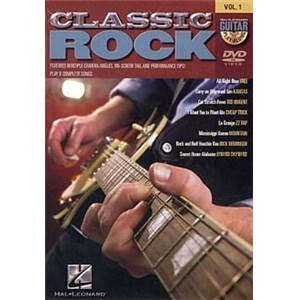 COMPILATION - GUITAR PLAY ALONG DVD VOL.1 CLASSIC ROCK