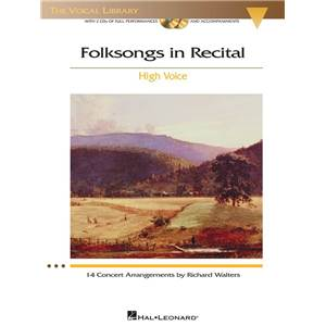 COMPILATION - FOLKSONGS IN RECITAL HIGH VOICE VOL.2 + CD