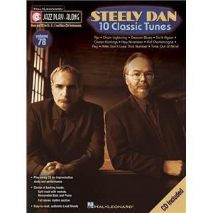 STEELY DAN - JAZZ PLAY ALONG VOL.078 10 CLASSIC TUNES + CD