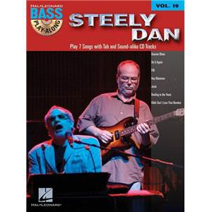 STEELY DAN - BASS PLAY ALONG VOL.19 + CD