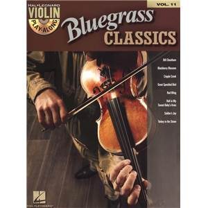 COMPILATION - VIOLIN PLAY ALONG VOL.011 BLUEGRASS CLASSICS + CD