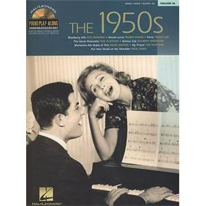 COMPILATION - PIANO PLAY ALONG VOL.056 THE 1950'S + CD