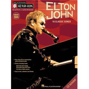 JOHN ELTON - JAZZ PLAY ALONG VOL.104 CLASSICS + CD