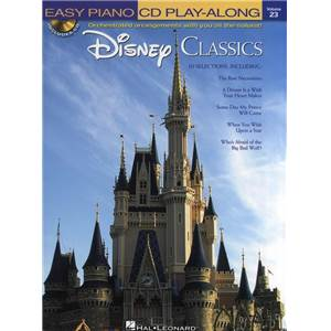 COMPILATION - EASY PIANO CD PLAY ALONG VOL.23 DISNEY CLASSICS + CD