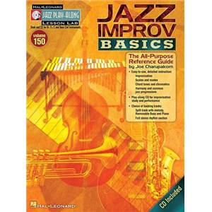 CHARUPAKORN JOE - JAZZ PLAY ALONG VOL.150 JAZZ IMPROV BASICS + CD