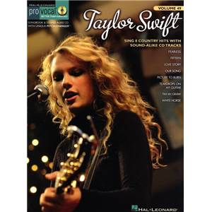 SWIFT TAYLOR - PRO VOCAL FOR WOMEN SINGERS VOL.49: + CD