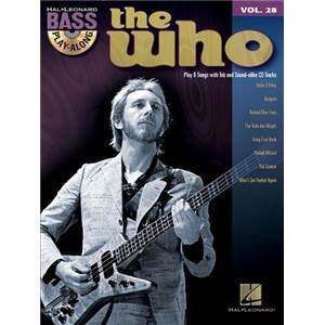 WHO THE - BASS PLAY ALONG VOL.28 + CD