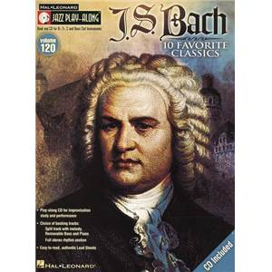 BACH JEAN SEBASTIEN - JAZZ PLAY ALONG VOL.120 + CD