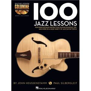 HEUSSENSTAMM JOHN / SILBERGLEIT PAUL - 100 JAZZ LESSONS + 2CD