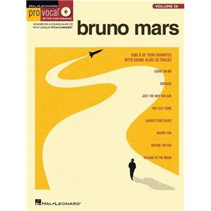 MARS BRUNO - PRO VOCAL FOR MALE SINGERS VOL.58 + CD