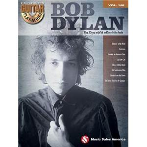 DYLAN BOB - GUITAR PLAY ALONG VOL.148 + CD
