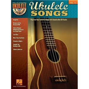 COMPILATION - UKULELE PLAY ALONG VOL.13 UKULELE SONGS + CD