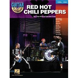 RED HOT CHILI PEPPERS - GUITAR PLAY ALONG VOL.153 + CD TOP2012