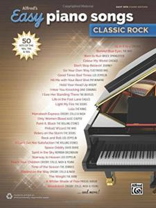 COMPILATION - ALFRED'S EASY PIANO SONGS : CLASSIC ROCK