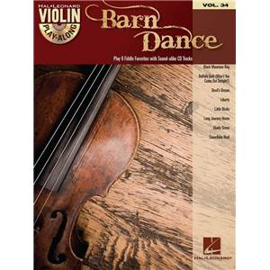 COMPILATION - VIOLIN PLAY ALONG VOL.034 BARN DANCE + CD