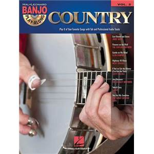 COMPILATION - BANJO PLAY ALONG VOL.02 COUNTRY + CD