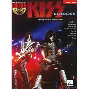 KISS - GUITAR PLAY ALONG VOL.168 + CD