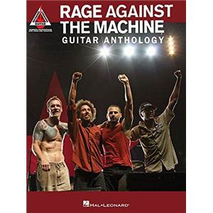 RAGE AGAINST THE MACHINE - GUITAR ANTHOLOGY GUITAR RECORDED VERSIONS
