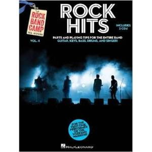 COMPILATION - ROCK BAND CAMP VOL.4 TODAY'S HITS + 2 CD