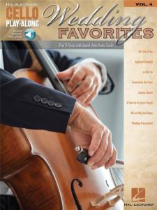 COMPILATION - CELLO PLAY-ALONG VOL.004 WEDDING FAVORITES + ONLINE AUDIO ACCESS