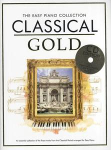 COMPILATION - EASY GOLD CLASSICAL  ESSENTIAL PIANO COLLECTION + CD