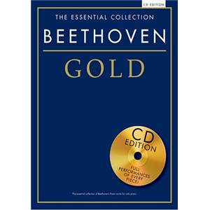 BEETHOVEN - GOLD ESSENTIAL PIANO COLLECTION + CD
