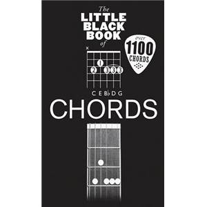 COMPILATION - LITTLE BLACK SONGBOOK OF GUITAR CHORDS