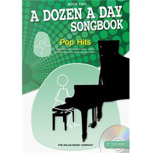 BURNAM EDNA MAE - A DOZEN A DAY VOL.2 SONGBOOK EASY POP + CD
