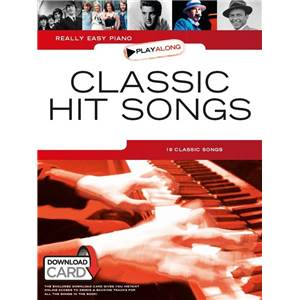 COMPILATION - REALLY EASY PIANO CLASSIC HIT SONGS + DOWNLOAD CARD