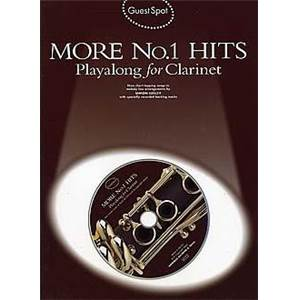 COMPILATION - GUEST SPOT MORE NO.1 HITS POUR CLARINETTE + CD