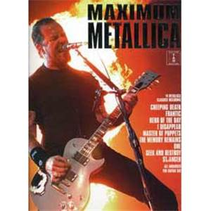 METALLICA - MAXIMUM 14 CLASSICS GUITAR TAB.