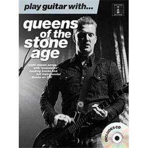 QUEENS OF THE STONE AGE - PLAY GUITAR WITH... + CD