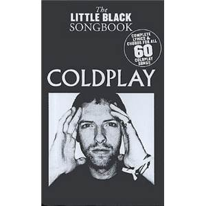 COLDPLAY - LITTLE BLACK SONGBOOK 60 CHANSONS FORMAT POCHE