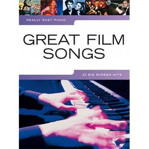 COMPILATION - REALLY EASY PIANO GREAT FILM SONGS