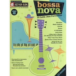 COMPILATION - JAZZ PLAY ALONG VOL.040 BOSSA NOVA + CD