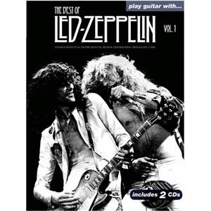 LED ZEPPELIN - BEST OF VOL.1 PLAY GUITAR WITH + CD