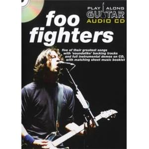 FOO FIGHTERS - PLAY ALONG GUITAR + CD