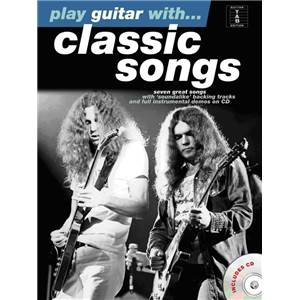 COMPILATION - PLAY GUITAR WITH CLASSIC SONGS + CD