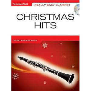 COMPILATION - REALLY EASY CLARINET CHRISTMAS HITS + CD