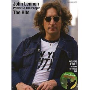 LENNON JOHN - POWER TO PEOPLE P/V/G + DVD derniers exemplaires