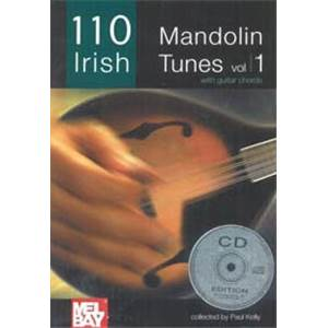 COMPILATION - IRELAND'S BEST MANDOLIN TUNES (110) VOL.1 + CD