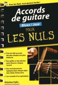POLIN ANTOINE - POUR LES NULS  ACCORDS GUITARE BLUES POCHE
