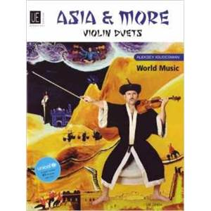 IGUDESMAN ALESKEY - ASIA AND MORE FOR VIOLIN DUETS DUOS DE VIOLON