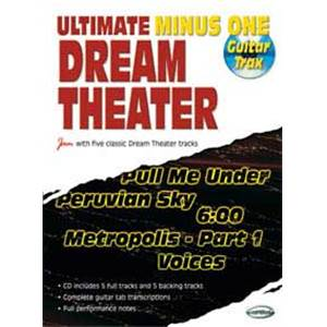 DREAM THEATER - ULTIMATE MINUS ONE VOL.1 GUITAR TRAX + CD