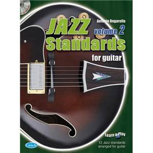 COMPILATION - JAZZ STANDARDS FOR GUITAR VOL.2 + CD