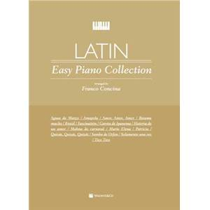COMPILATION - LATIN EASY PIANO COLLECTION