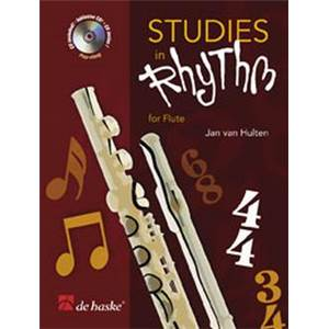 VAN HULTEN J.W.A. - STUDIES IN RHYTHM POUR FLUTE TRAVERSIERE + CD